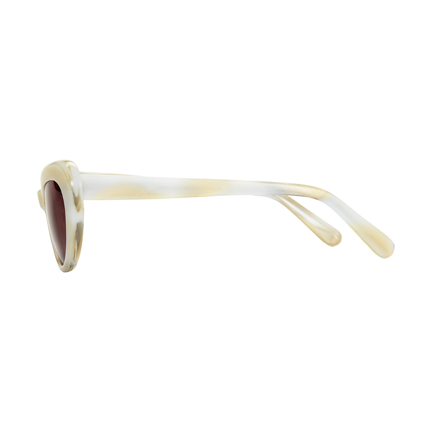 Nuovo Ivory & Grey Sunglasses