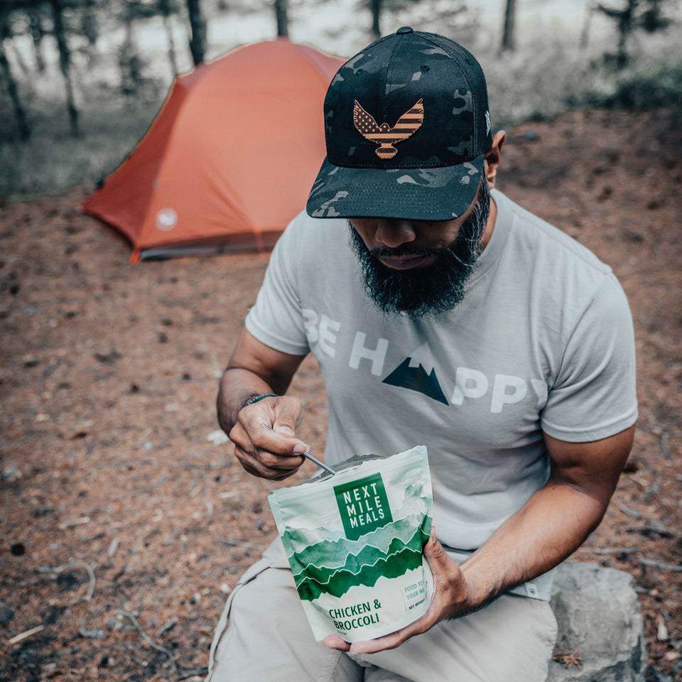 Customer Testimonial Photo - Chicken & Broccoli - Backpacking Meals