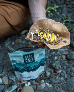 Deli Roast Beef - On Trail - Backpacking Meals - Next Mile Meals