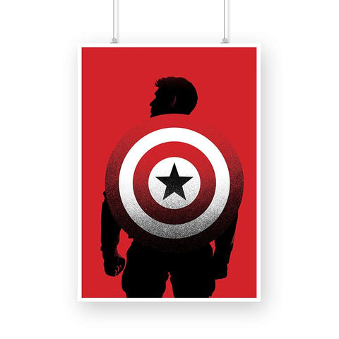 Captain America, Red Shield Poster