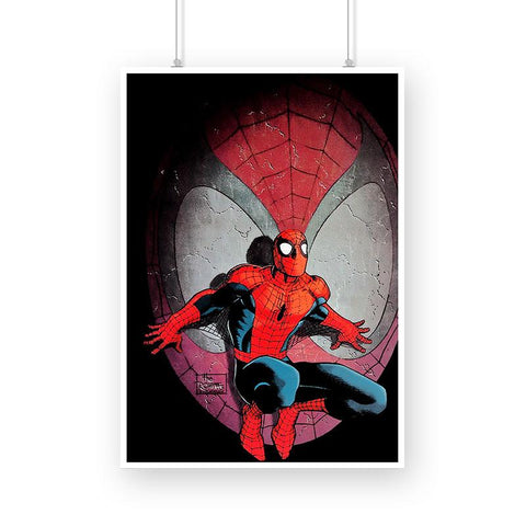 Spiderman, Silhouette Poster