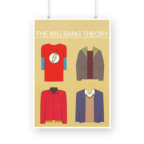 The Big Bang Theory, Outfits Poster