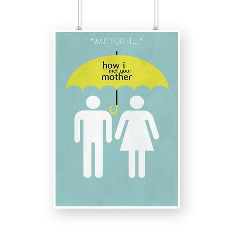 How I Met Your Mother, Wait for It Poster