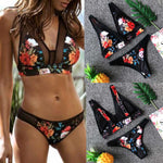 Printed Fashion Bikini (Push-Up Padded Bra)