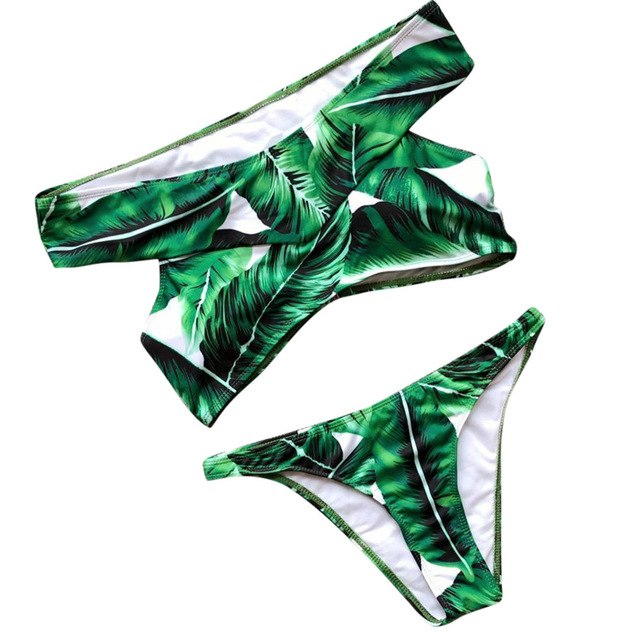 Sexy Leaf Bikini Set (Push-Up)