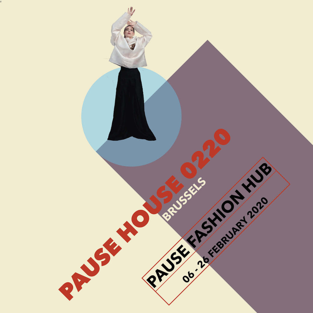 DESIGNERS <BR>PAUSE HOUSE BRUSSELS <br> FEBRUARY 6-26 <br>
