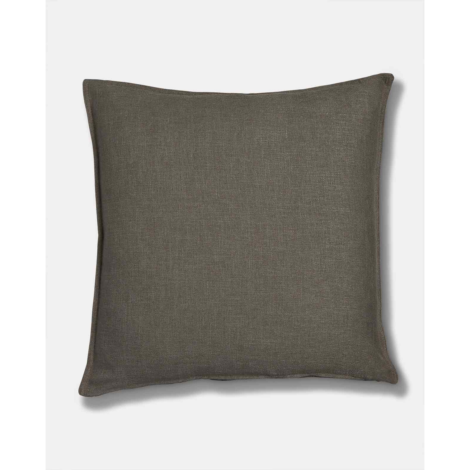 Grey Linen Scatter Cushion
