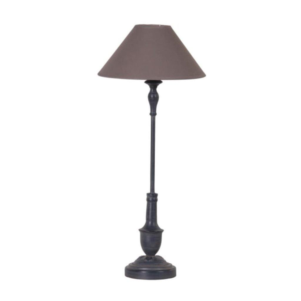 Black Thin Bedside Lamp
