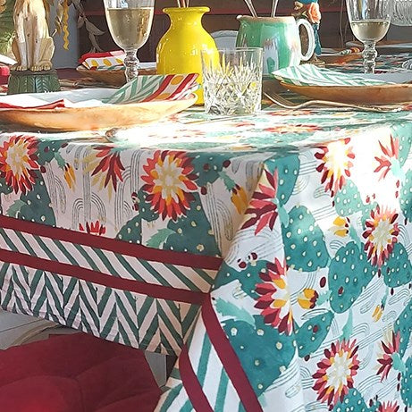 Tablecloth, Cacti