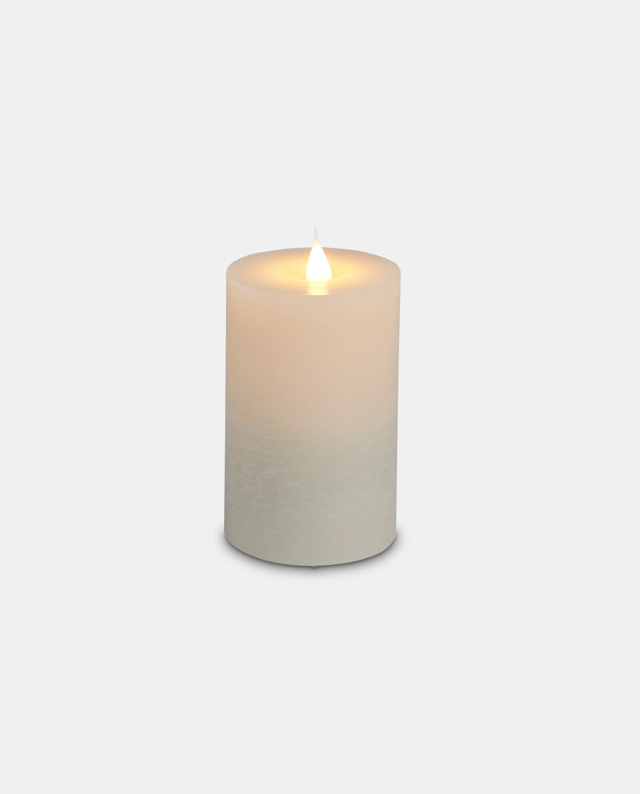 Ivory Wax 12cm LED Candle