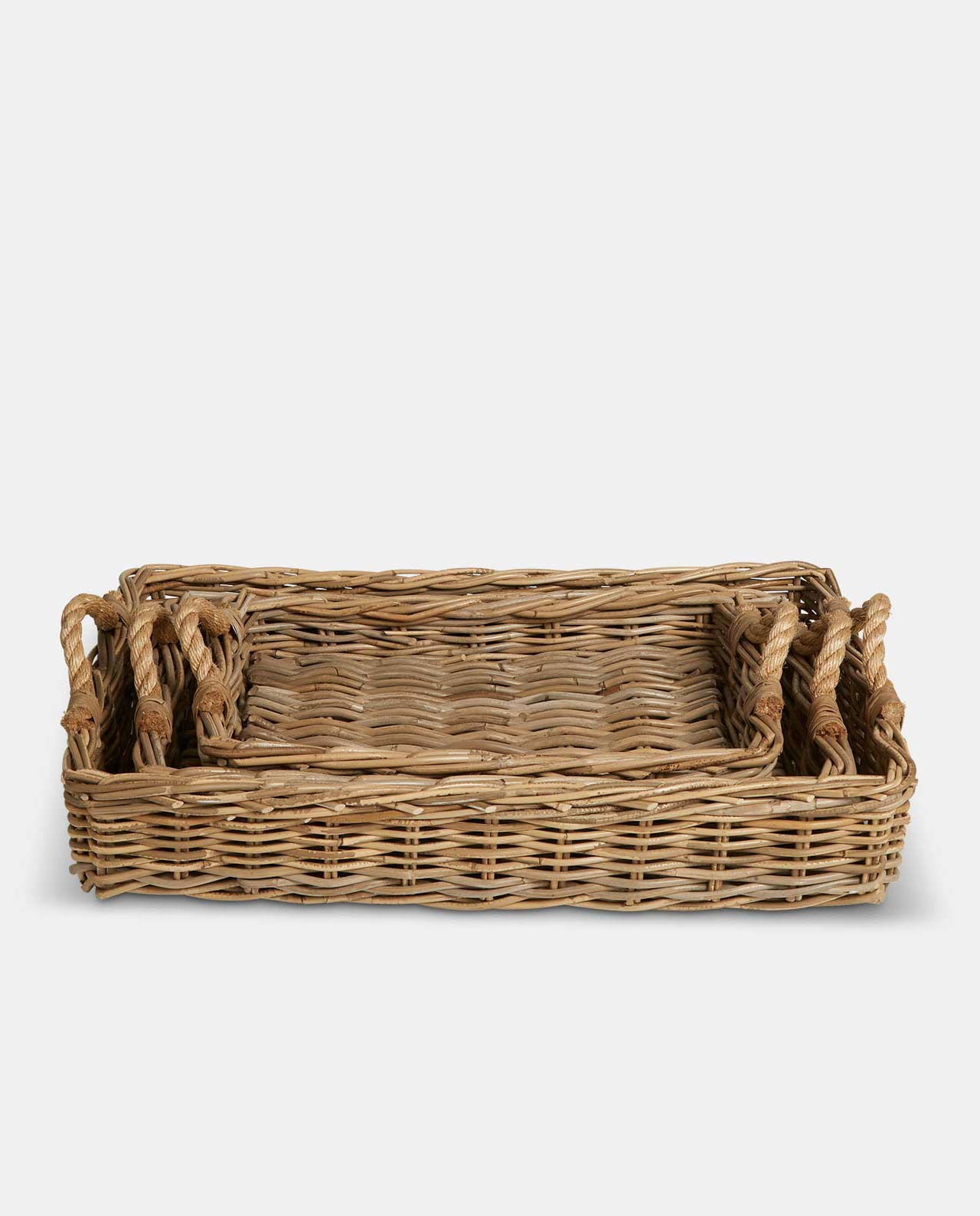 Wicker 27x27x25 Basket