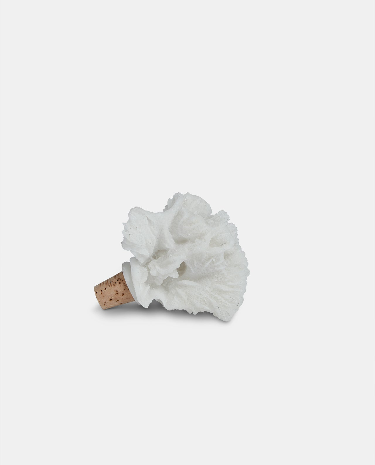 White Coral Wine Bottle Stopper