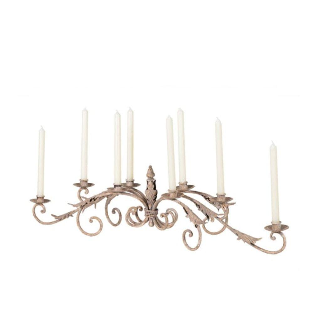 8 Arm Leaves Candelabra