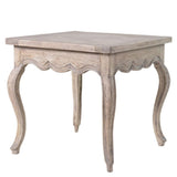 Imperial Parquet Top Side Table