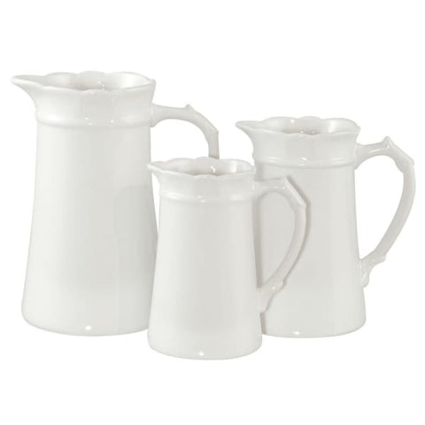 White Jug Large