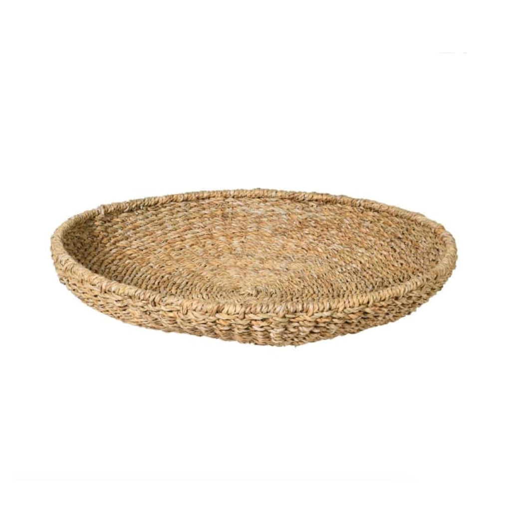 Round Seagrass Tray