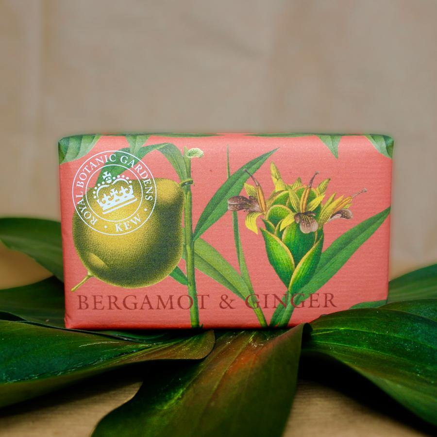 Bergamot and Ginger Kew Gardens Botanical Soap