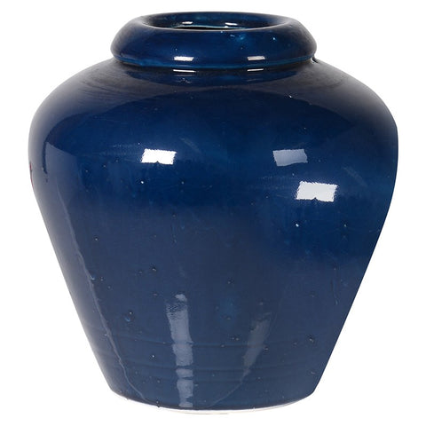 Medium Deep Blue Vase