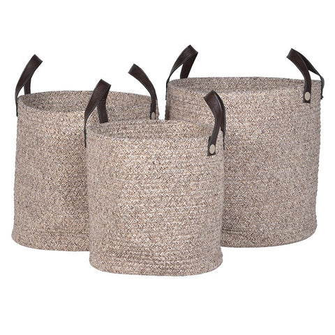 Rope Basket with Handles Small