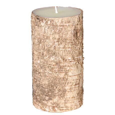Medium Birch Bark Candle