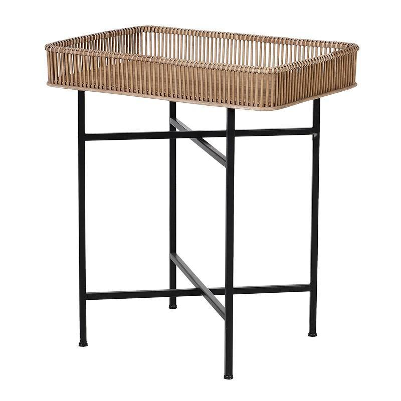 Rectangular Bamboo Tray Table