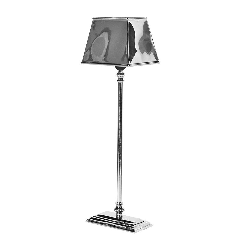 Stepped Allum Lamp