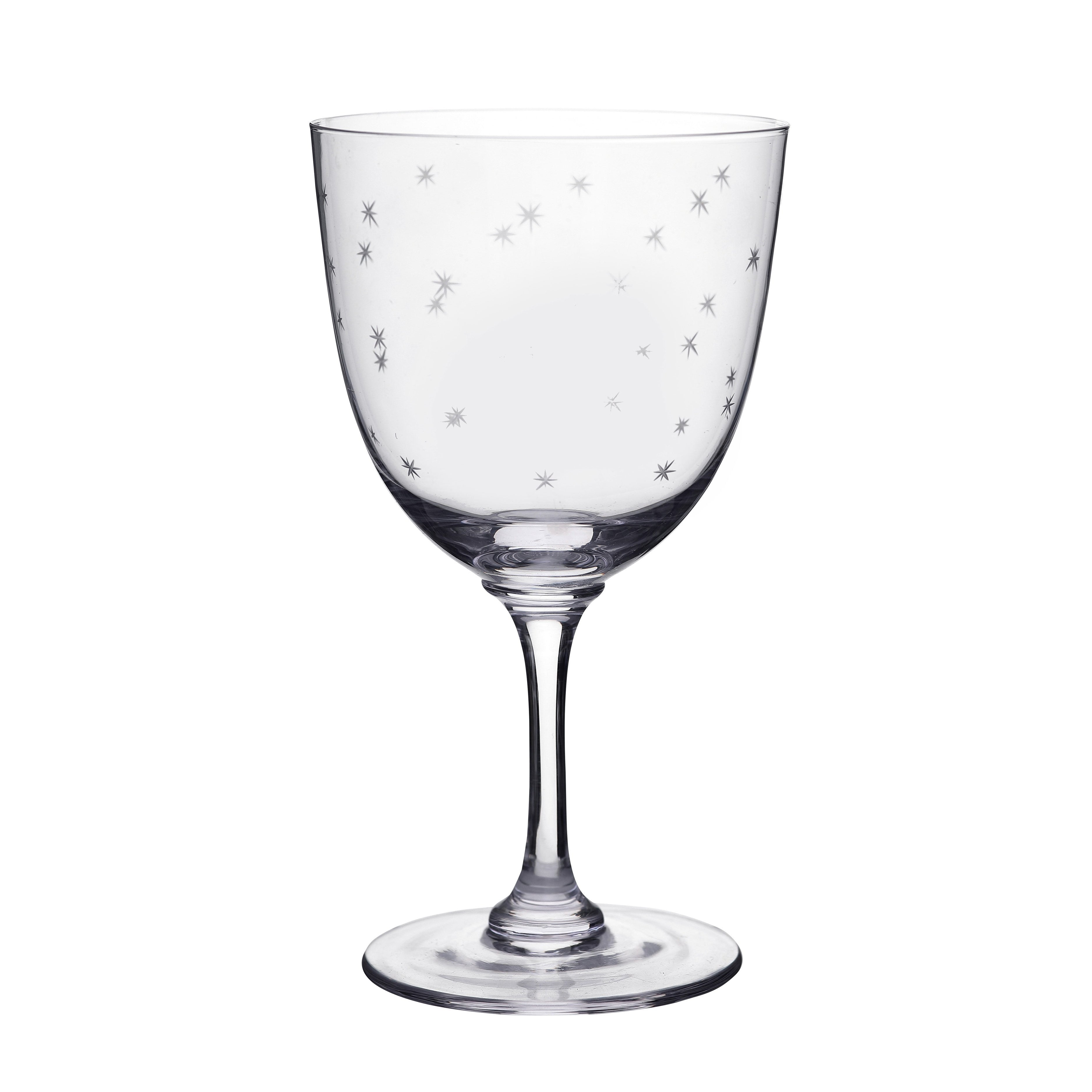 Wine Glass -  Stars