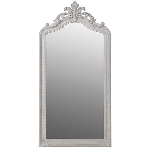 Tall Classical Scroll Mirror