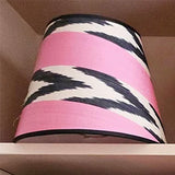 Silk & Card Shade / pink & black
