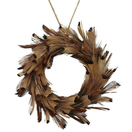 Feather Mini Wreath