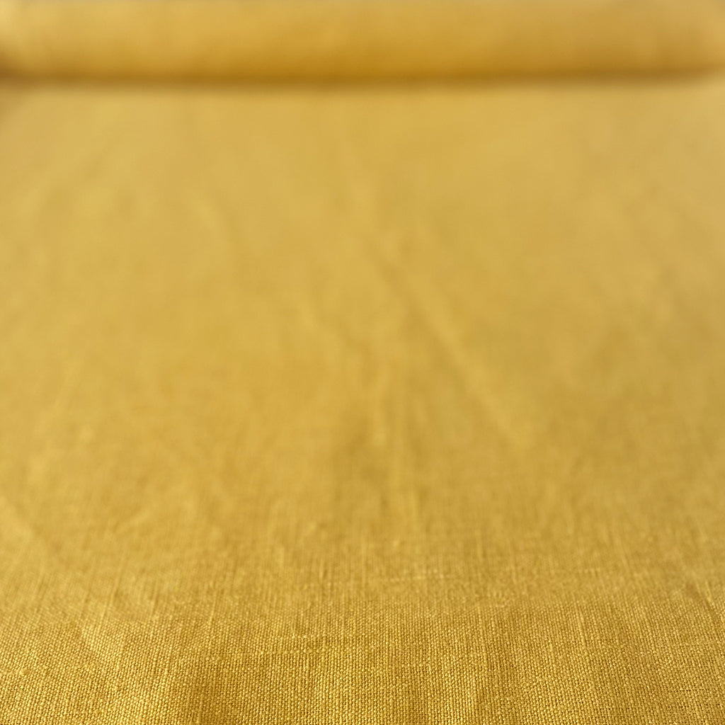 Plain Dyed Linen / Yellow