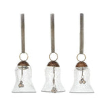 Jai Glass Bells Set of 3 small / Crackle