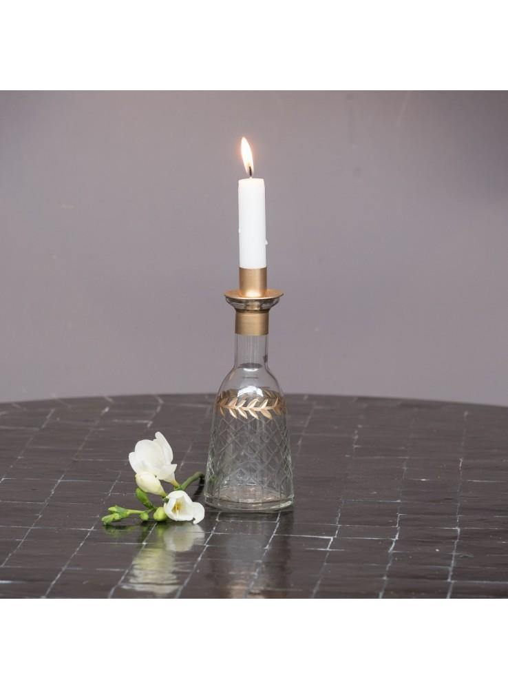 Bottle Candle Holder Large