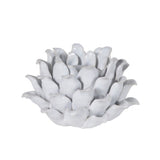 White flower T-lite Holder