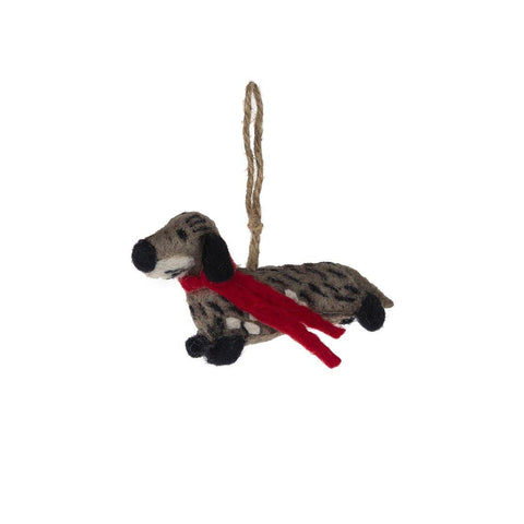Christmas Decoration -  Dachshund