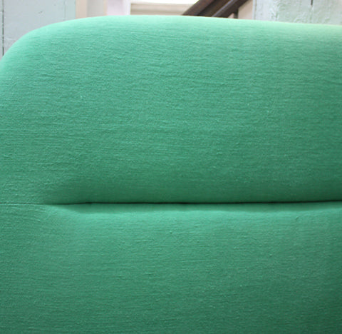 Green Headboard - Designers Guild Fabric