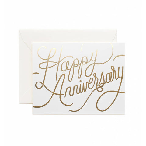 Wedding Greeting Card Happy Anniversary
