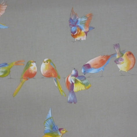 Happy Birds Linen