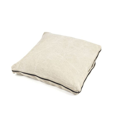 James Floor Cushion 70x70x7 Flax