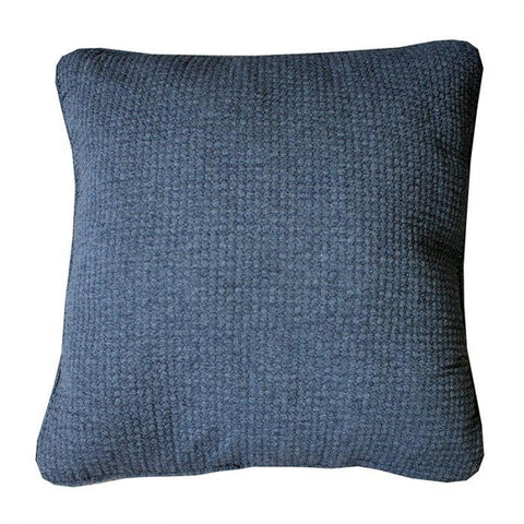 Leah Sham Cushion - Charcoal