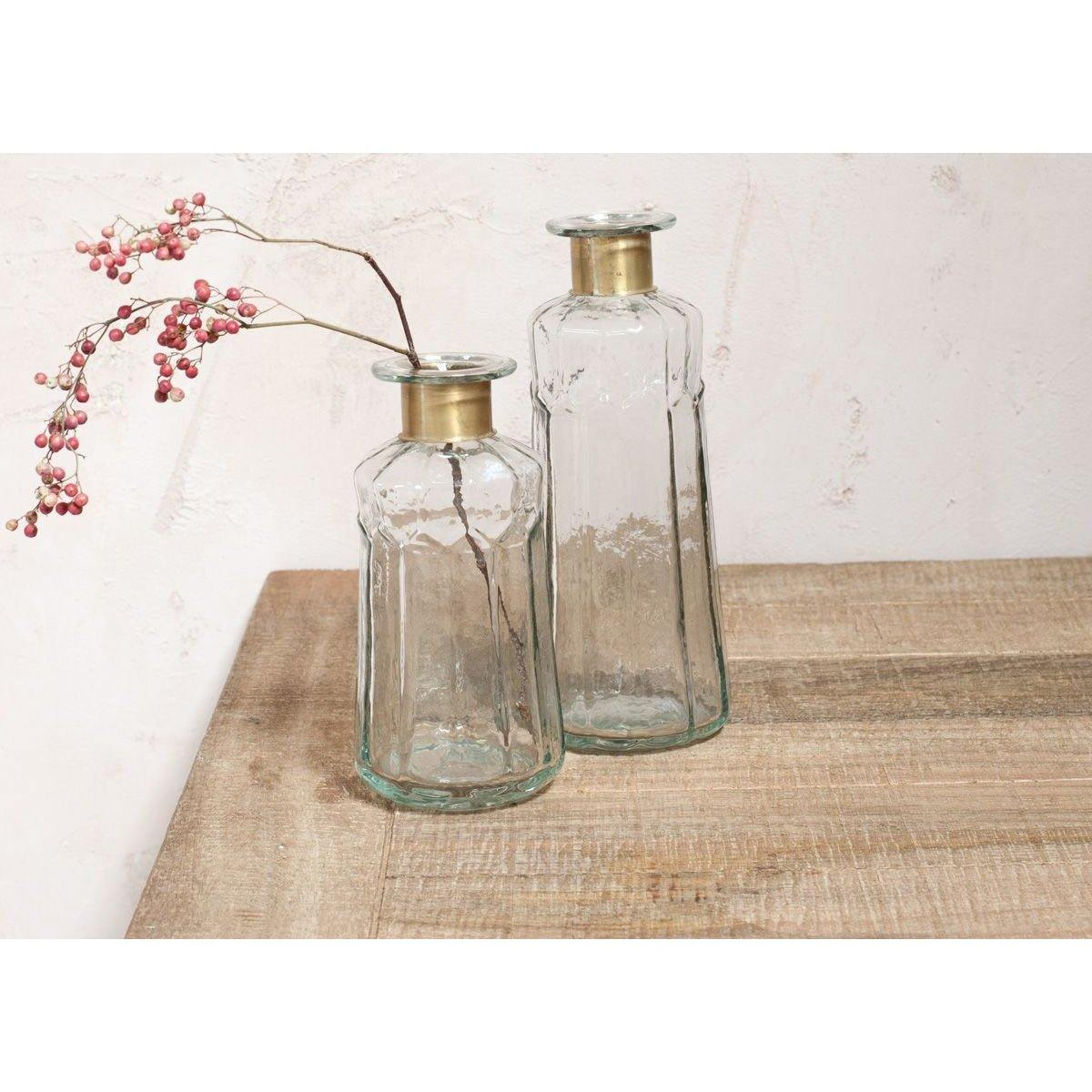 Chara Hammered Bottle - Decorative