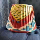 Pleated shade 36cm -  Red/blue/yellow/green