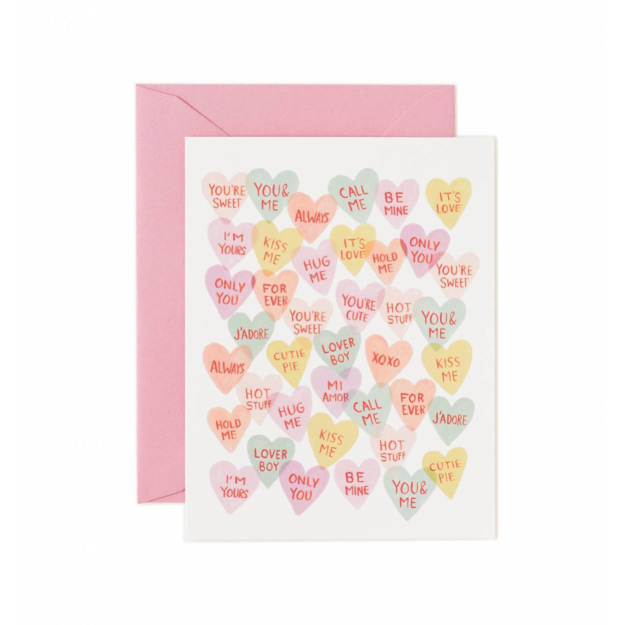 Made In Usa Valentine's Day Greeting Card Valentine Sweetheart