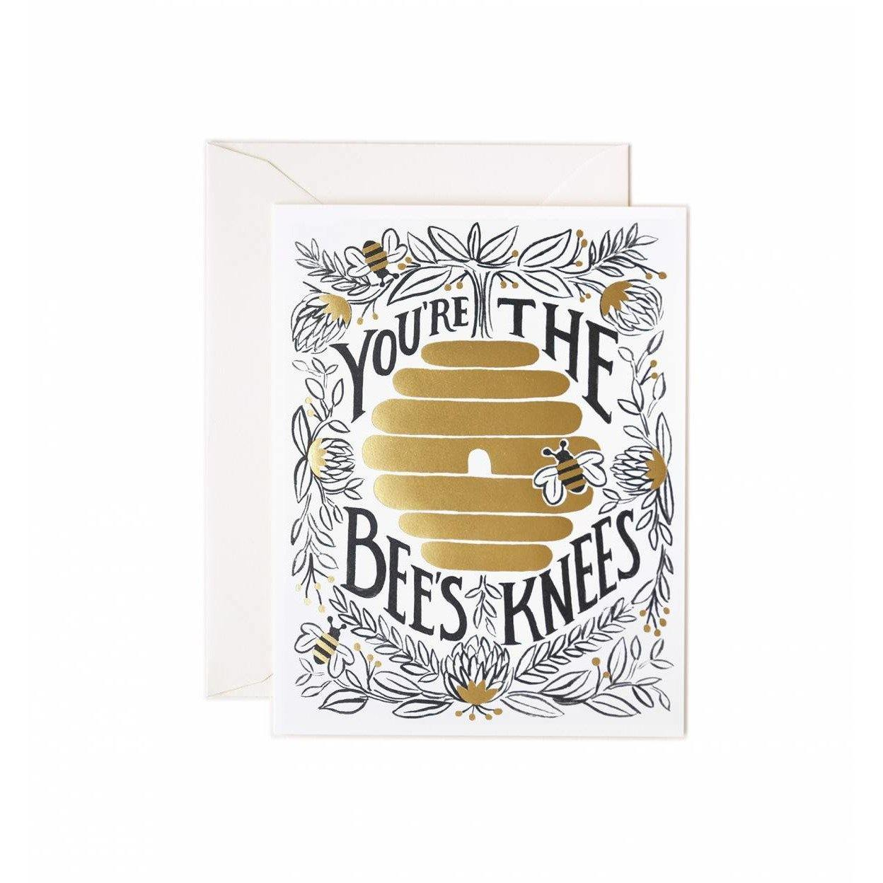 Love Greeting Card You're The Bee's Knees