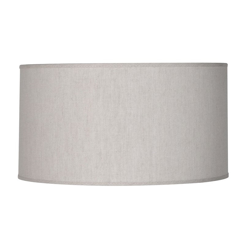 Medium Natural Cylinder Shade