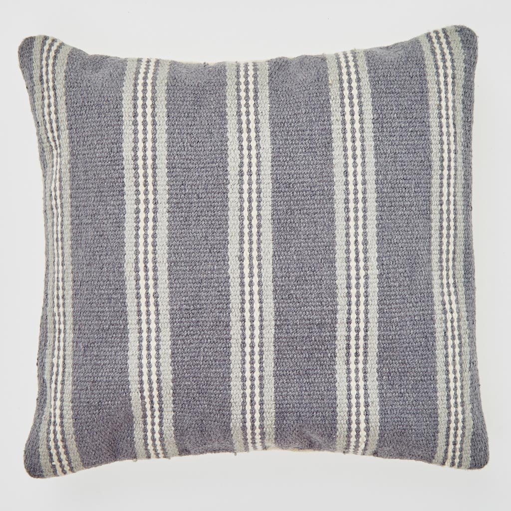 Clay Henley Stripe Cushion