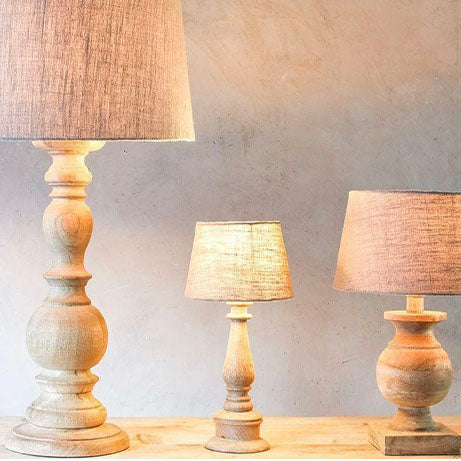 Jute Lampshade Natural - Small