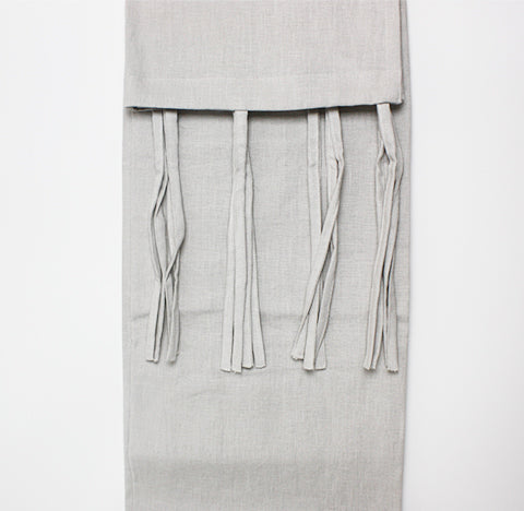 PLain Dyed Linen String - Panel