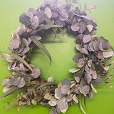 Eucalyptus & Eucalyptus Spray Wreath