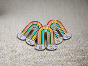 BE YOU - Rainbow Pin